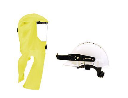e-breathe Multi-Hood gelb mit Helmhalterung