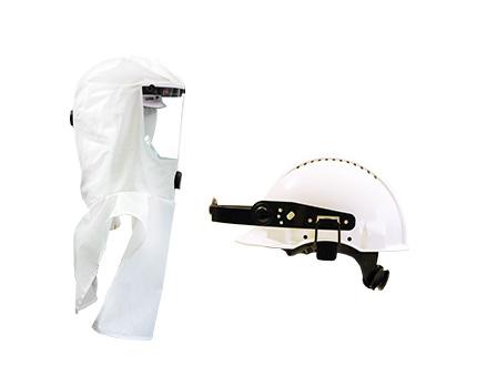 e-breathe Multi-Hood weiß mit Helmhalterung