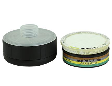 e-breathe Kombinationsfilter Atemschutzfilter A2B2E2K2-P3 R SL