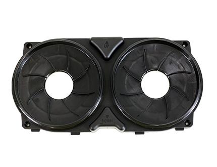 e-Flow PAD-Box zur Verwendung mit e-breathe ecoPAD Filtern