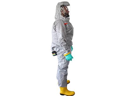 Atemschutzanzug PM Chemical Grey Inside