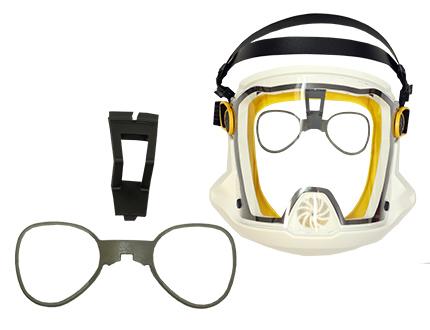 e-breathe Multimask Brillenadapter System
