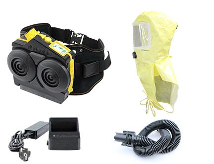 e-breathe Ready-Pack e-Flow mit Chemical Hood von PM Atemschutz