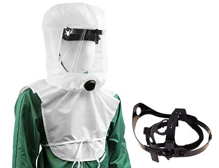 e-breathe Multi-Hood und Kopfhalterung