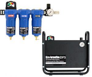Druckluft-Filterstationen