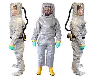 Schutzanzüge Chemical Grey