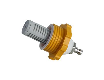 e-breathe e-Line Druckluft-Regelventil Schlauchadapter